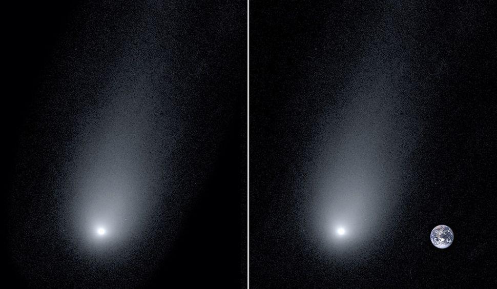 Комету Борисова сфотографировали крупным планом