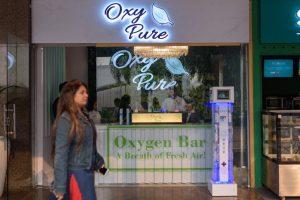 Смог в Нью-Дели: в городе открыли кислородный бар