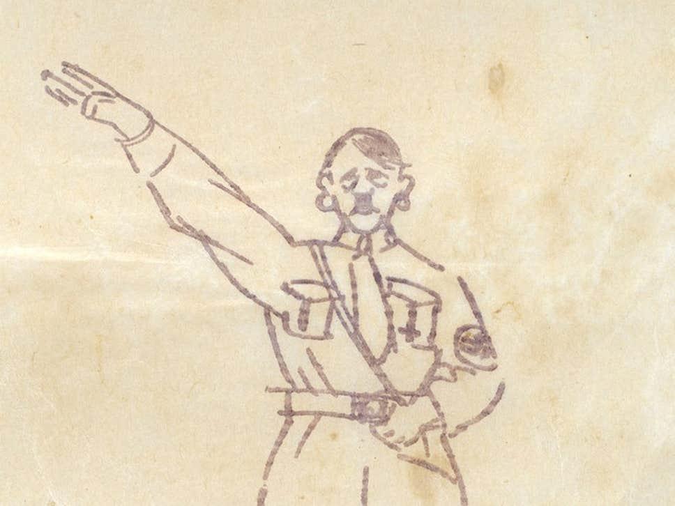 В Великобритании на аукцион выставили  туалетную бумагу с Гитлером