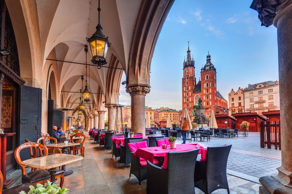 Краков признали лучшим местом для городского отдыха в Европе