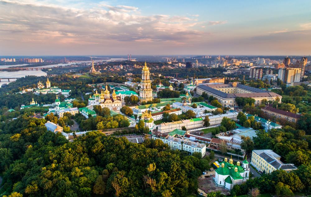 Определен самый зеленый район Киева.Вокруг Света. Украина