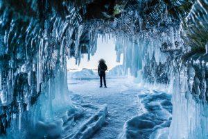 В Сибири температура воздуха упала до - 44