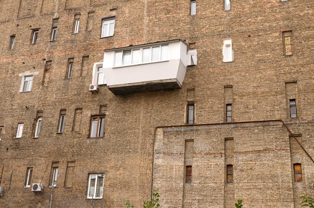В Украине сняли документальный фильм о балконах.Вокруг Света. Украина