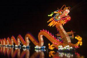 В Киеве пройдет новогодний фестиваль гигантских китайских фонарей