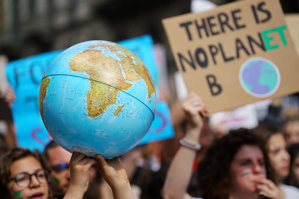 Климатическая забастовка: выбрано словосочетание 2019 года