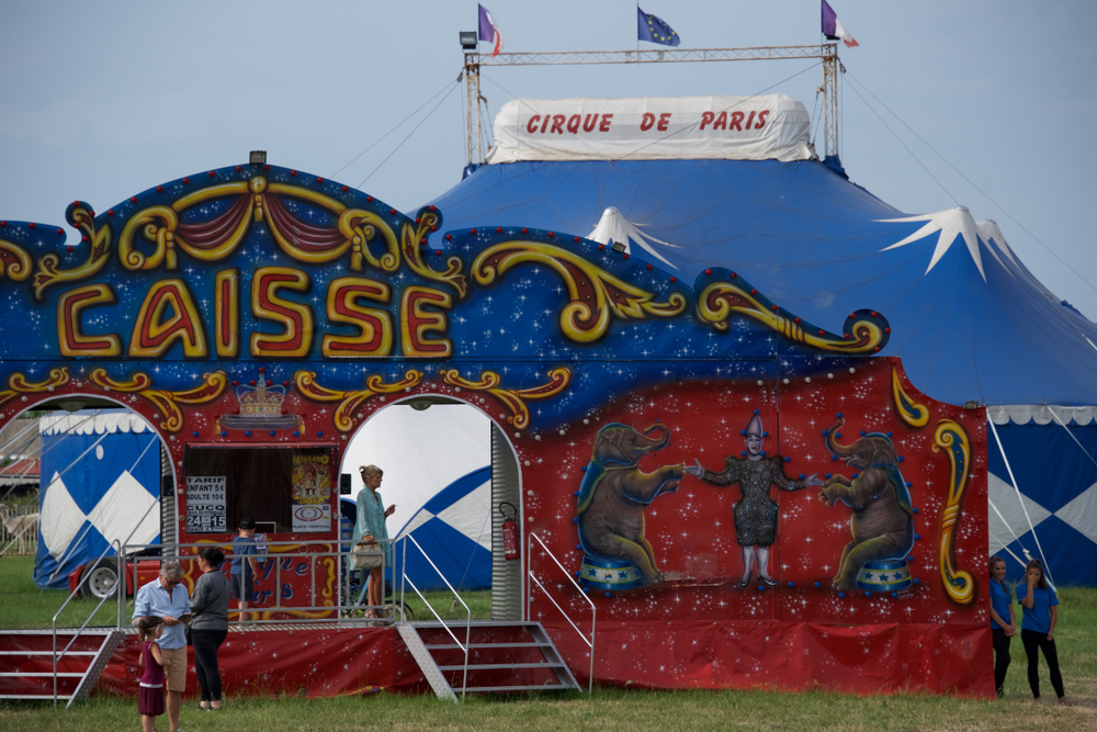 В Париже запретили цирки с дикими животными.Вокруг Света. Украина