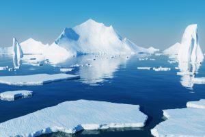 Из-за таяния льда Арктика отражает меньше тепла