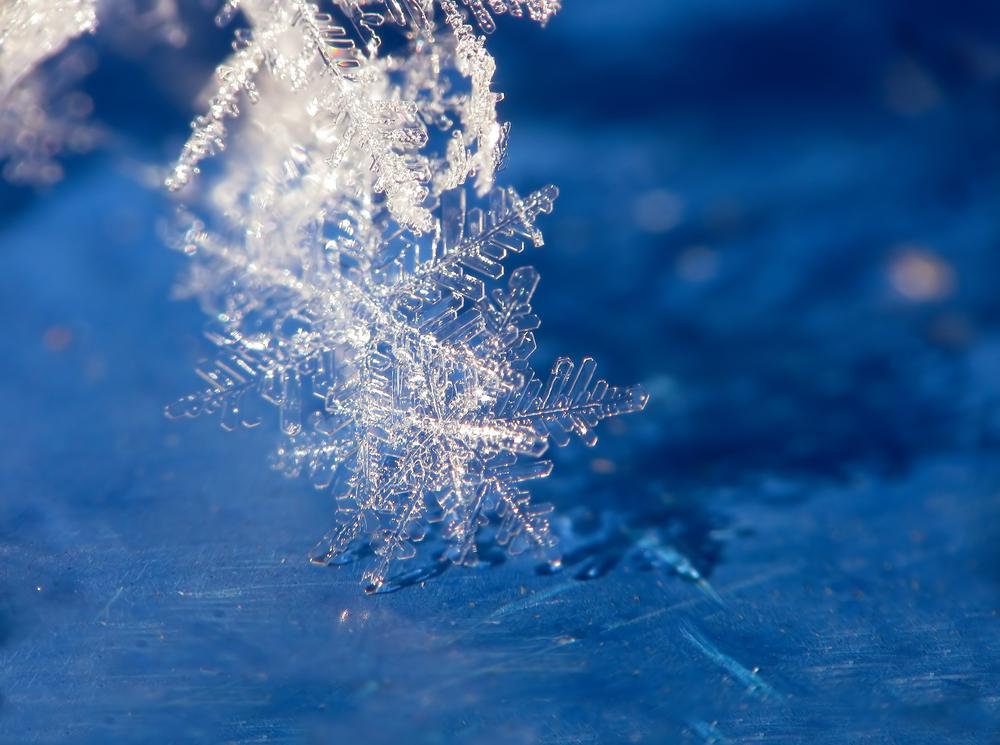 Создана самая крохотная в мире снежинка.Вокруг Света. Украина