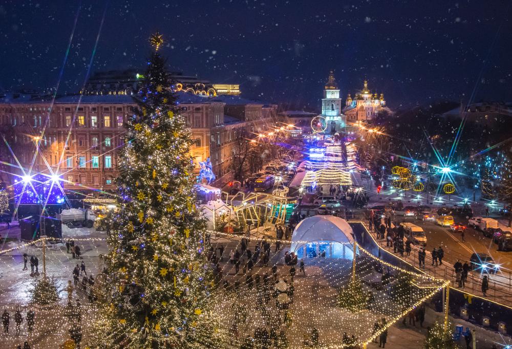 Новый год-2020: главную елку Украины зажгут 19 декабря.Вокруг Света. Украина