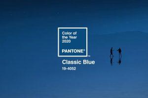 Цветом 2020 года стал классический синий