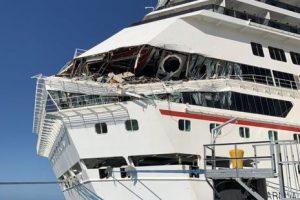 В Мексике столкнулись круизные лайнеры, есть пострадавшие