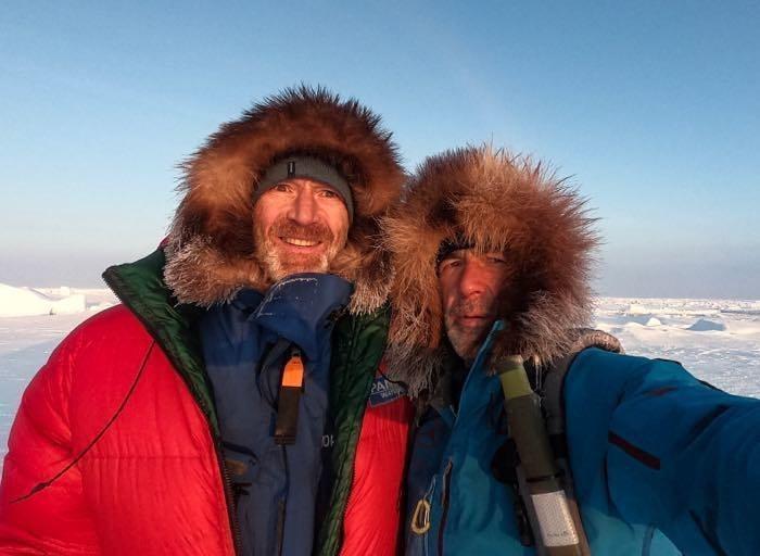 1800 км пешком по льдам: завершен эпохальный поход по Арктике