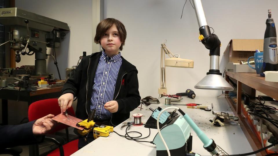 Девятилетний бельгийский вундеркинд бросил университет.Вокруг Света. Украина