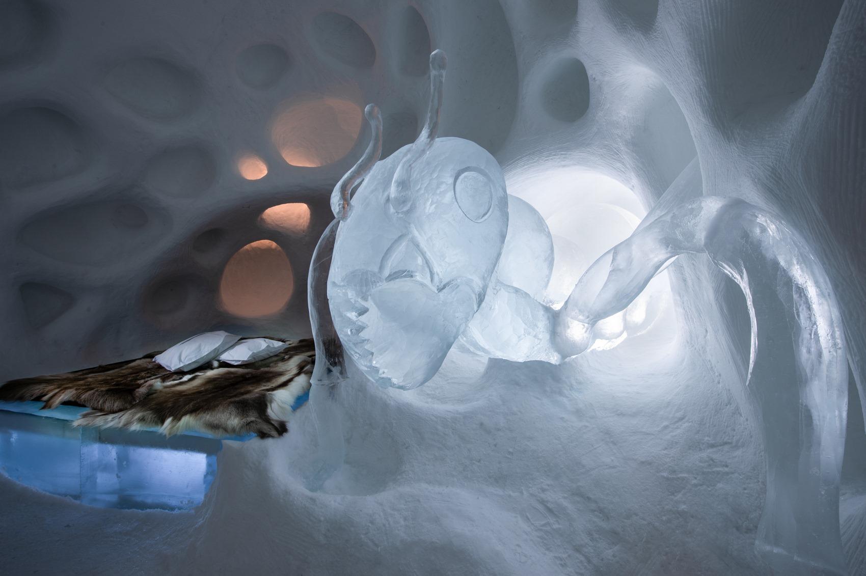 Шведский отель изо льда открыл 30-й сезон