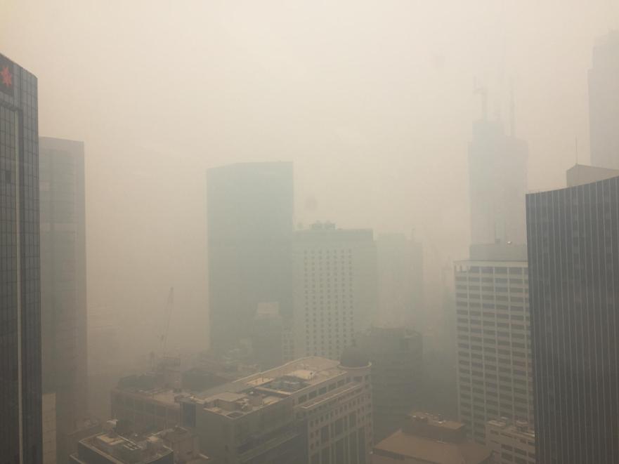 Пожары в Австралии: Сидней задыхается в тучах ядовитого дыма.Вокруг Света. Украина