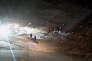 В Альпах выжил лыжник, погребенный под лавиной