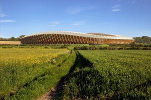 В Англии построят полностью деревянный стадион