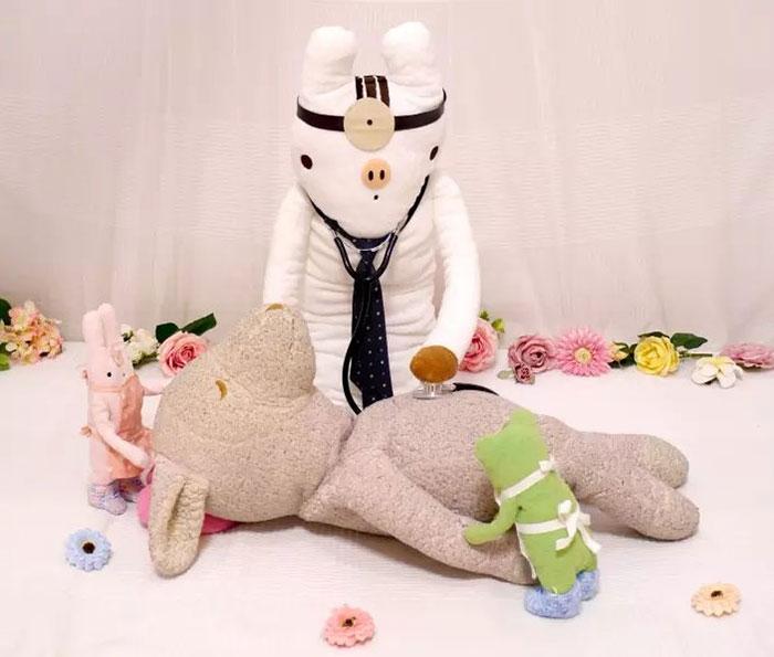 В Японии открыли больницу для мягких игрушек