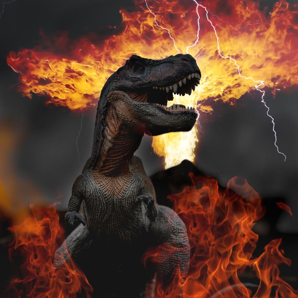 Динозавры вымерли бы и без астероида — палеогеологи