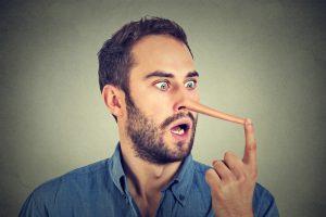 Мужчины уверены, что умеют врать