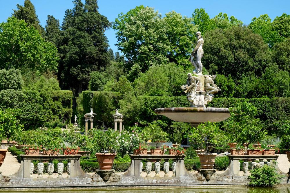 Флоренция сады Боболи