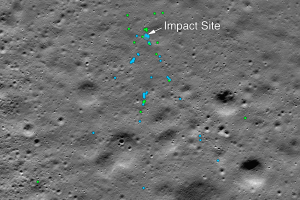 НАСА обнаружило на Луне обломки индийского посадочного модуля «Викрам»