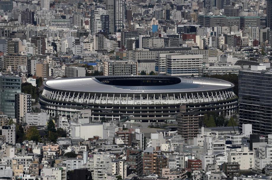 В Токио к Олимпиаде-2020 открыли новый стадион