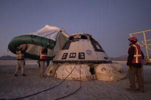 Капсула Boeing Starliner вернулась на Землю после неудачной попытки состыковаться с МКС