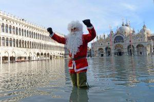 Венецию опять затопило