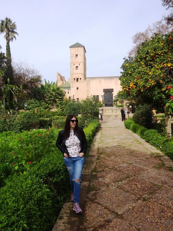 фото Марокко Рабат Андалузские сады