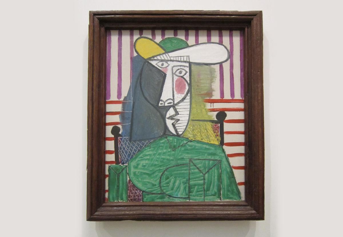 В Лондоне вандал повредил картину Пикассо стоимостью £20 млн.Вокруг Света. Украина