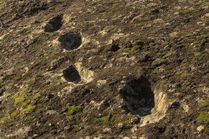 Загадочные следы у вулкана на юге Италии могли принадлежать неандертальцам