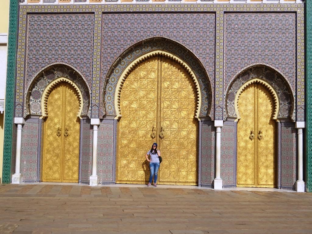 фото Марокко Фес ворота