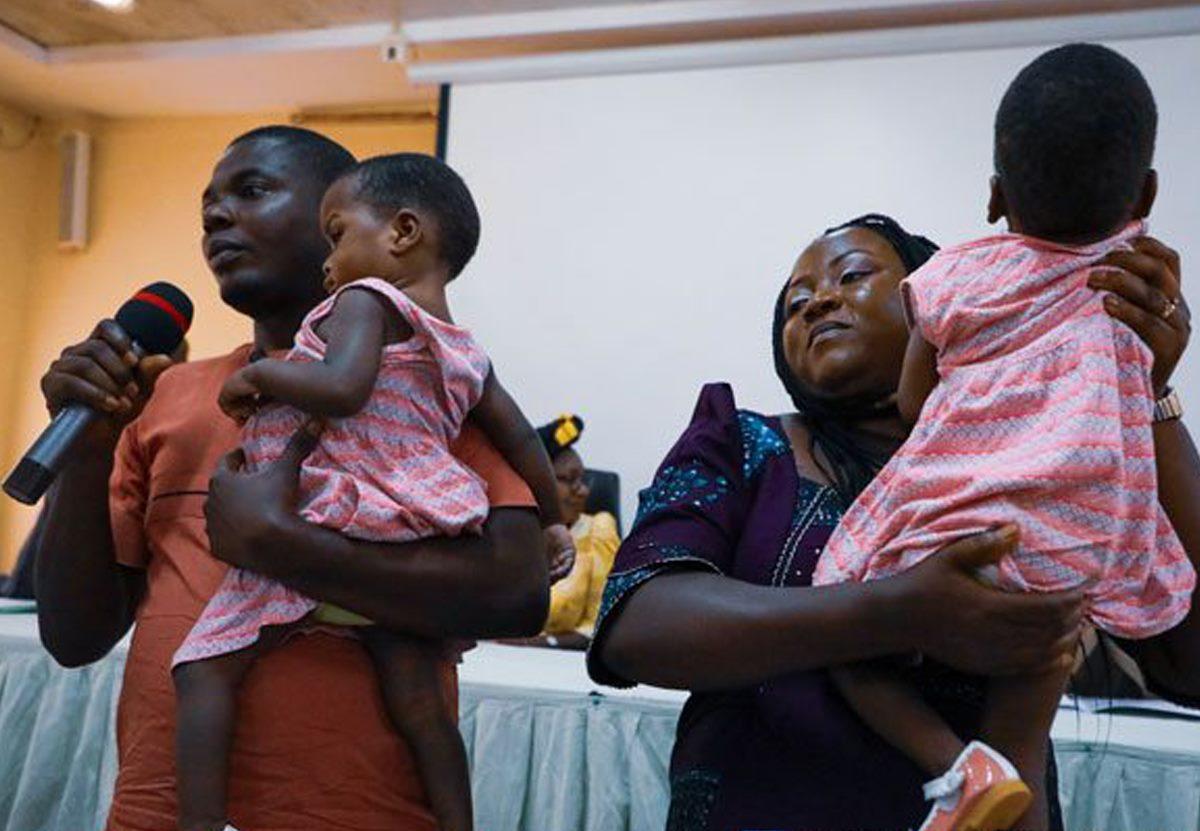 В Нигерии успешно разделили сиамских близнецов