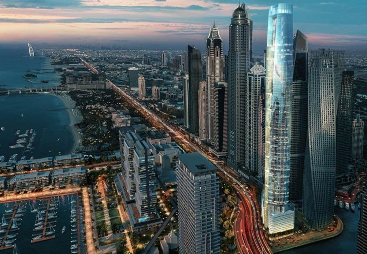 В Дубае строят очередной самый высокий отель мира.Вокруг Света. Украина
