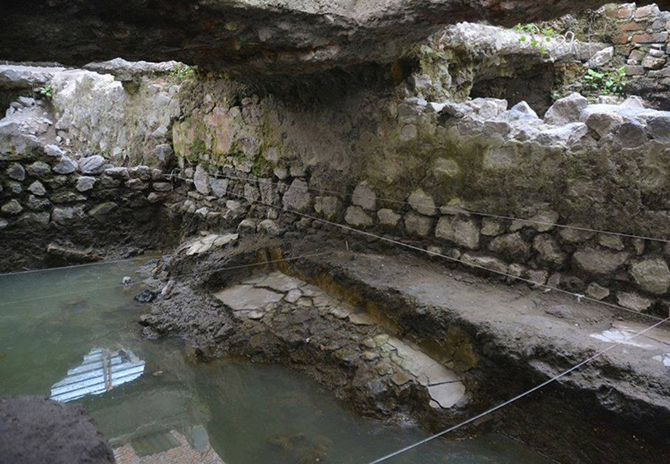 В Мехико раскопали баню американских индейцев