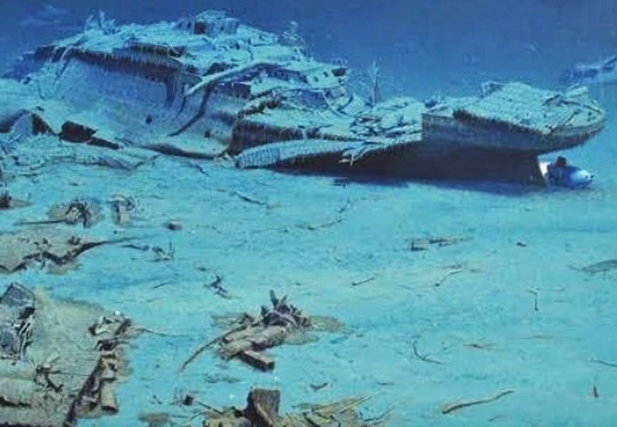 Договор между США и Британией защитит обломки «Титаника»