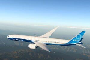 Ультрасовременный Boeing 777X успешно завершил первый полет