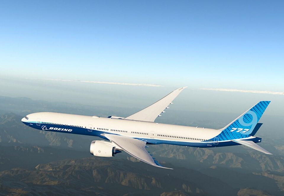 Ультрасовременный Boeing 777X успешно завершил первый полет.Вокруг Света. Украина