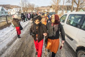 Как водят Маланку и празднуют Старый Новый год в Космаче: видео, фото