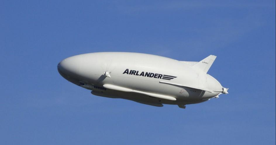 Рекордно большое воздушное судно в мире стало еще больше.Вокруг Света. Украина