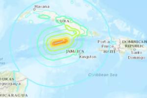 На Кубе и Ямайке прошло землетрясение (видео)