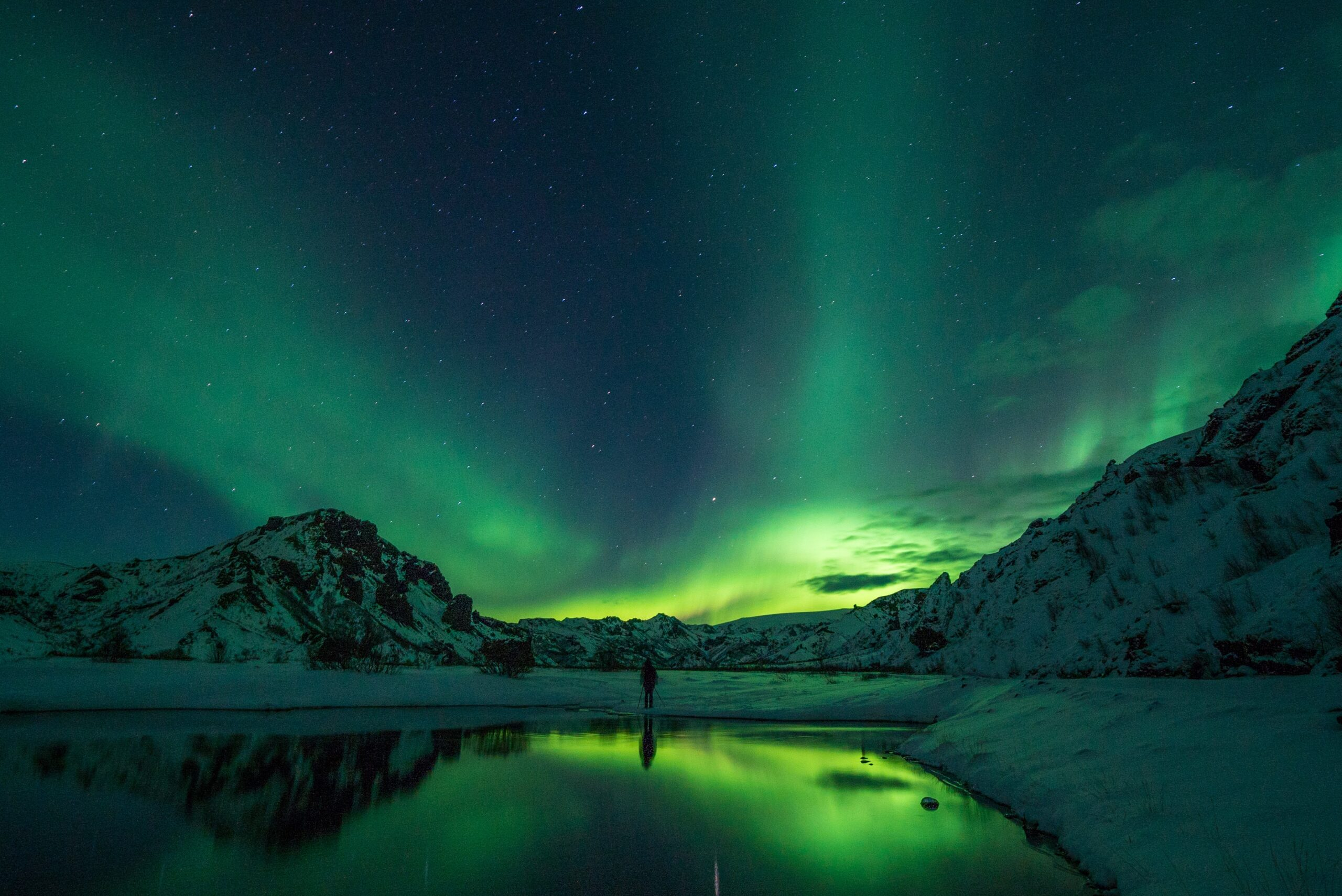 Ледяные пещеры и полярное сияние: ради чего ехать зимой в Исландию