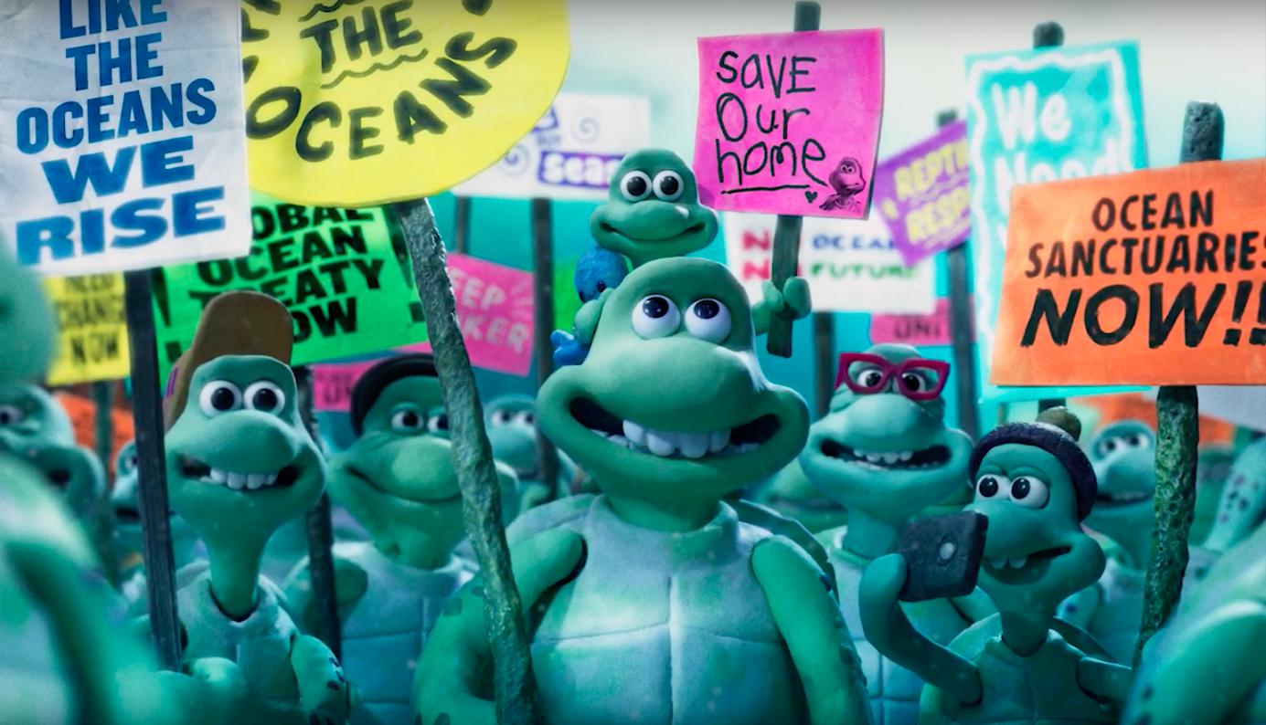 Greenpeace выпустила трогательный ролик о бедах морских черепах.Вокруг Света. Украина