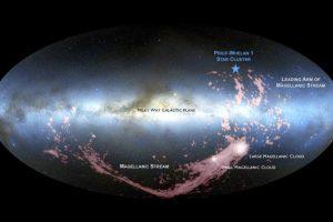 Астрономы заметили признаки столкновения нашей галактики с соседней