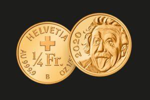 В Швейцарии отчеканили самую маленькую в мире золотую монету