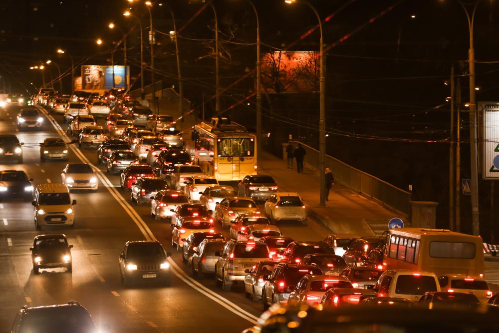Киев стал двенадцатым в мире по количеству пробок