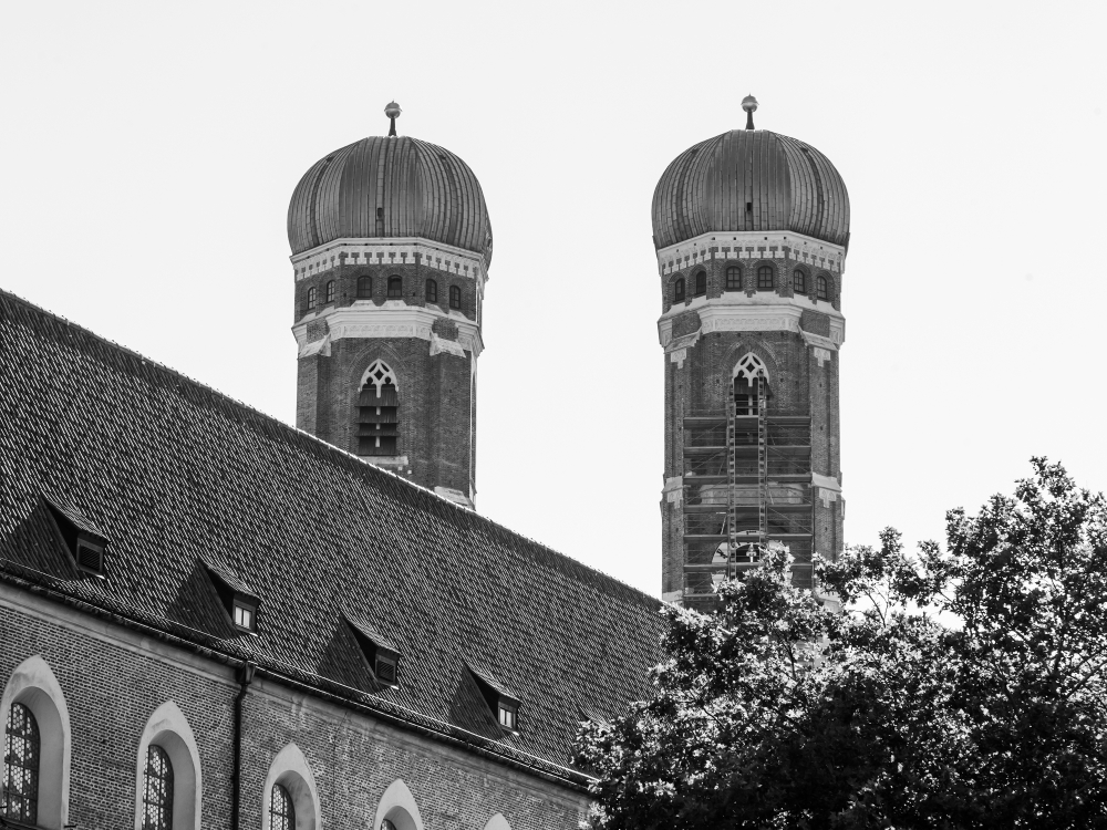 фото Мюнхена собор Пресвятой Девы Марии