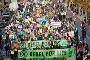 Британская полиция включила эко-активистов в список террористических организаций
