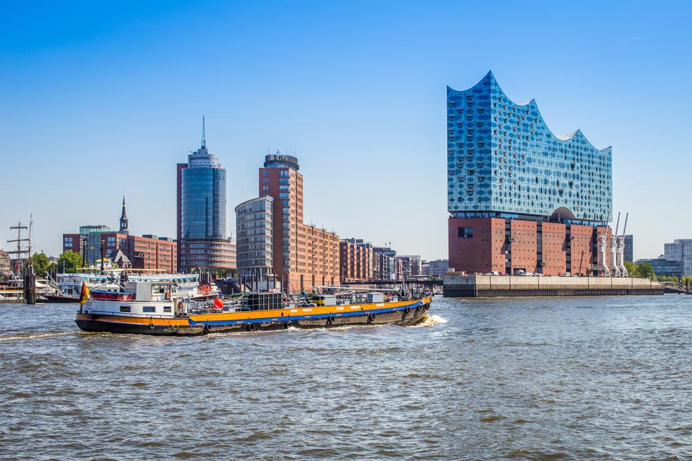 фото Гамбурга порт